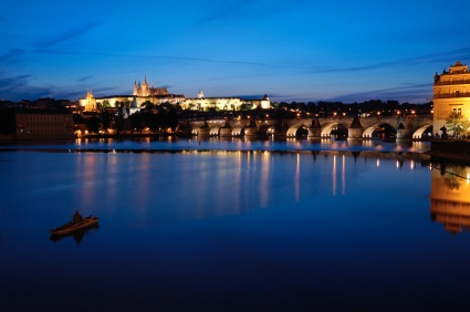 Prague Tours Prague At Night Tour With River Vltava