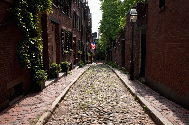 Downtown Freedom Trail to Copley Square Boston Walking ...