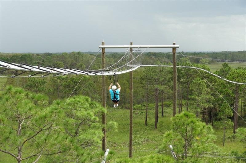 Orlando ecopark zipline safari orlando toursales