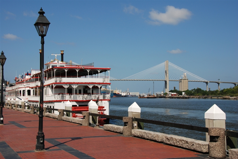 Savannah River Sightseeing Cruise Riverboat Tour Of Savannah