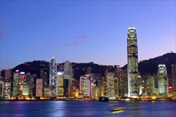 Hong Kong | China | Hong Kong at night city and cruise tour night tour of Hong Kong Harbor cruise
