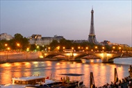 Paris | France | Paris Tour Eiffel Tower Seine River cruise Evening tour Notre Dame Cathedral