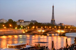Paris | France | Paris Tour Eiffel Tower Seine River cruise Evening tour
