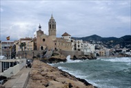 Barcelona | Spain | Barcelona day trip Freixenet cava wine cellars tour Sitges 17 beaches Sitges walking tour romantic day in Spain day tour from Barcelona
