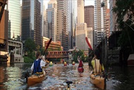 Photo of Chicago | Kayaking Sunset Tour