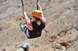 Las Vegas | USA | ziplining in Bootleg Canyon Bootleg Canyon tour Mojave Desert tour  Boulder City tour