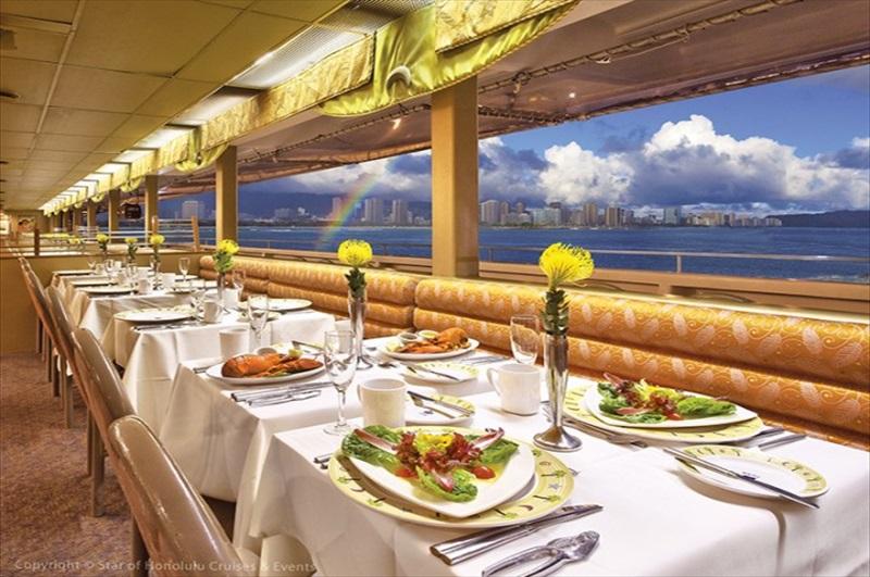 Oahu Luxury Sunset Dinner And Jazz Cruise Honolulu Toursales