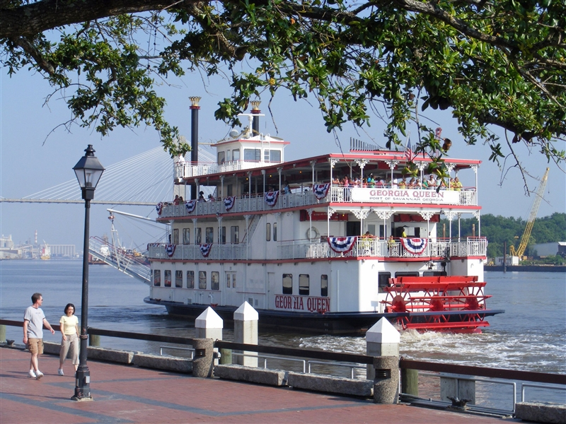 Riverboat Dinner Cruise Tour On Savannah River Via Tour Sales
